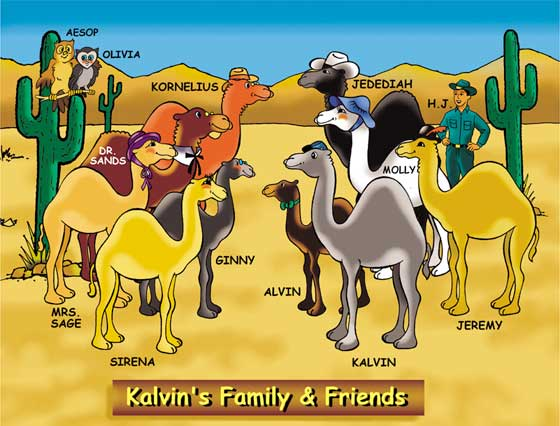 Kalvin's Family and Friends